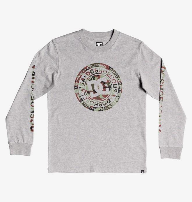 Circle Star - Long Sleeve T-Shirt for Boys 8-16  EDBZT03360