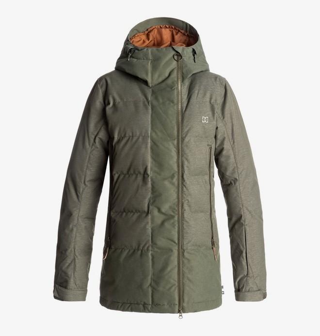 0 Liberty - Snow Jacke für Frauen Grün EDJTJ03023 DC Shoes