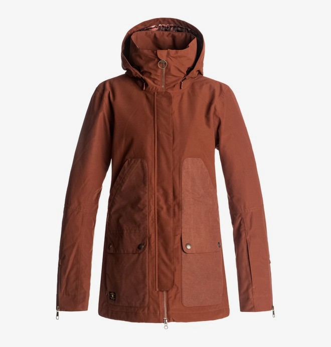 0 Panoramic - Snow Jacke für Frauen Rot EDJTJ03024 DC Shoes