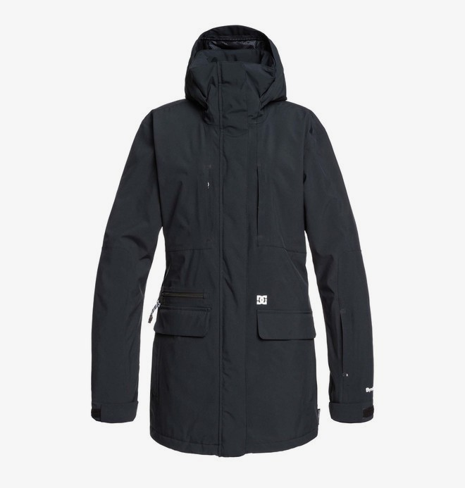 0 Panoramic 30K - Packable Snow Jacket Black EDJTJ03040 DC Shoes