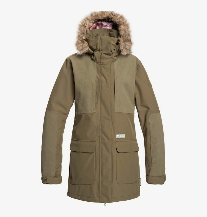 0 Panoramic - Snow Jacket Brown EDJTJ03041 DC Shoes