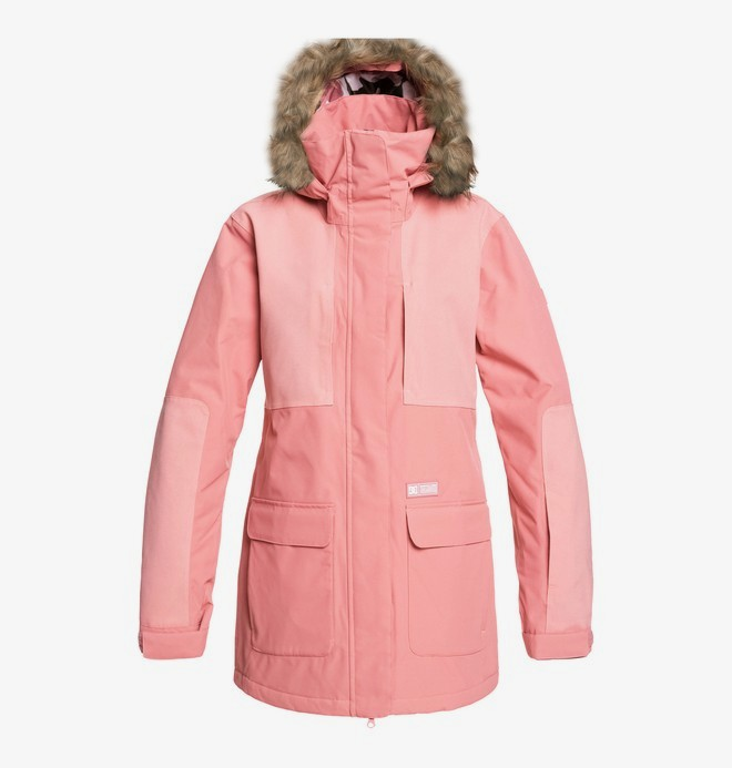 0 Panoramic - Snow Jacket Pink EDJTJ03041 DC Shoes