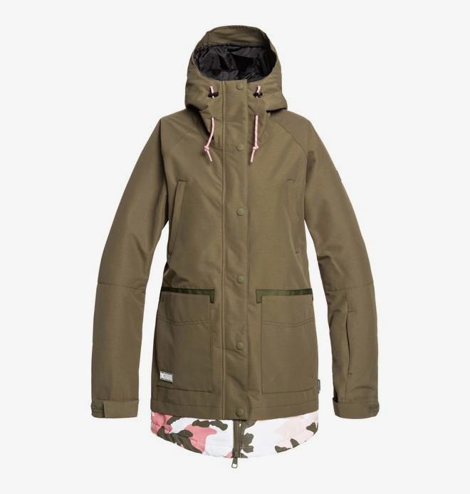 0 Riji - Snow Jacket Brown EDJTJ03042 DC Shoes