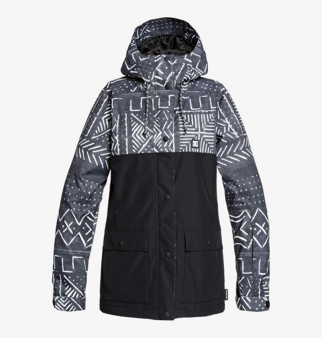 0 Cruiser - Snow Jacket Black EDJTJ03044 DC Shoes