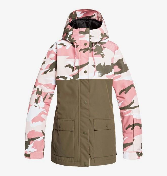 0 Cruiser - Snow Jacket Pink EDJTJ03044 DC Shoes