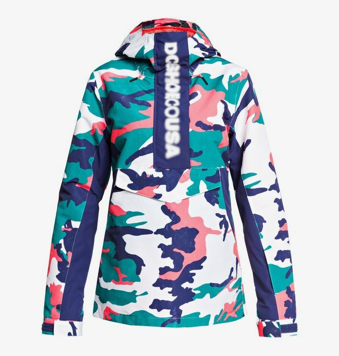 0 Envy - Anorak Snow Jacket Blue EDJTJ03045 DC Shoes