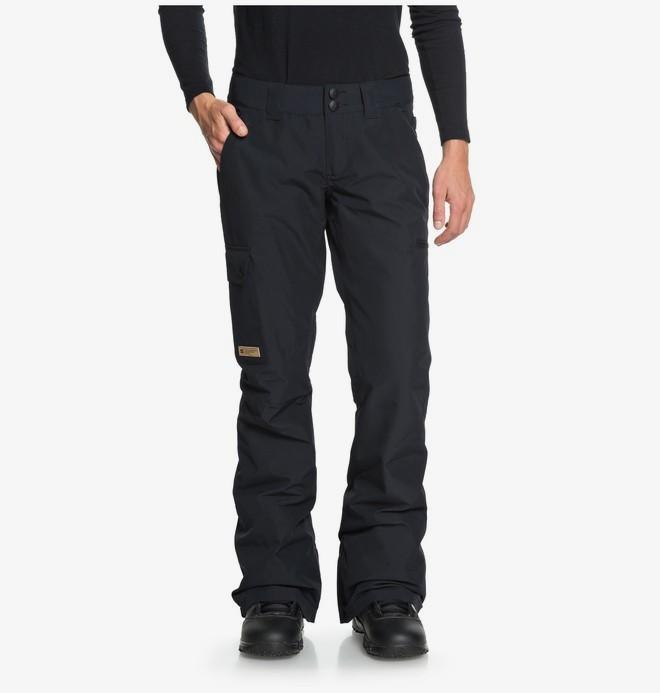 0 Recruit - Pantalones Para Nieve para Mujer Negro EDJTP03019 DC Shoes
