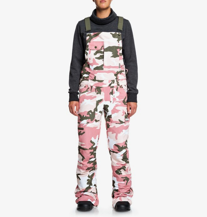 0 Collective - Snow Bib Pants Pink EDJTP03021 DC Shoes