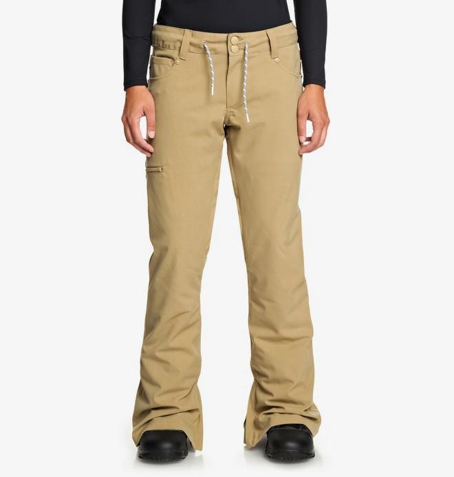 0 Viva - Snow Pants Brown EDJTP03022 DC Shoes