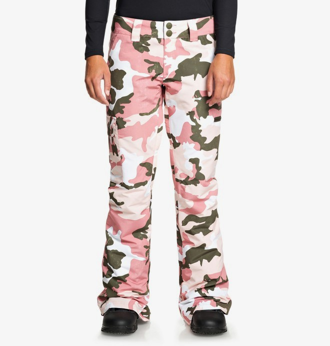 0 Recruit - Snow Pants Pink EDJTP03024 DC Shoes