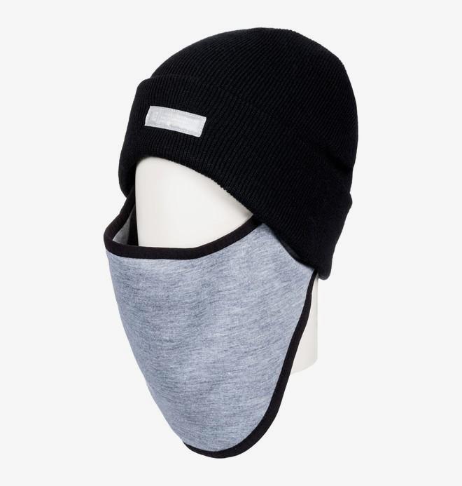 0 Variable - Face Warmer Beanie for Men Black EDYAA03141 DC Shoes