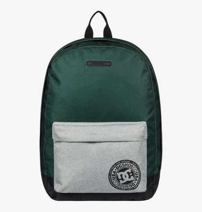0 Backstack 18.5L - Medium Backpack Green EDYBP03179 DC Shoes