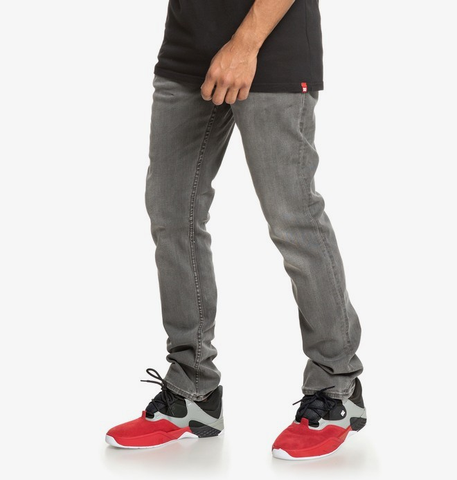 Worker Black - Straight Fit Jeans for Men  EDYDP03395