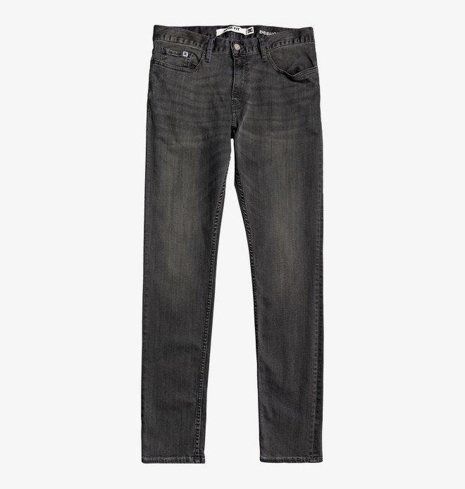 Worker Medium Grey - Slim Fit Jeans for Men  EDYDP03405