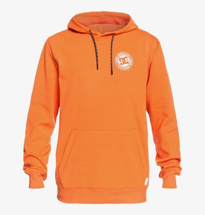 0 Snowstar - Sweat à capuche technique pour Homme Orange EDYFT03366 DC Shoes
