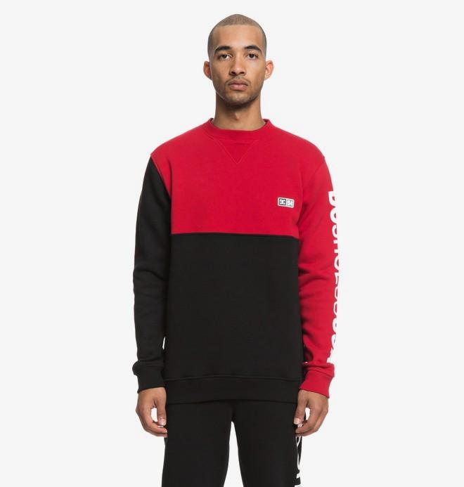 0 Clewiston - Sweatshirt pour Homme Noir EDYFT03404 DC Shoes