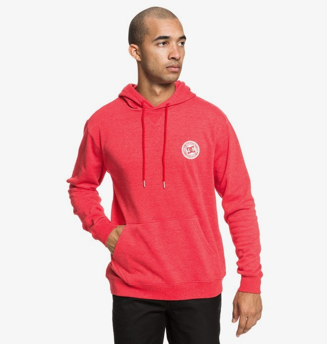 0 Rebel - Sweat à capuche pour Homme Rouge EDYFT03435 DC Shoes