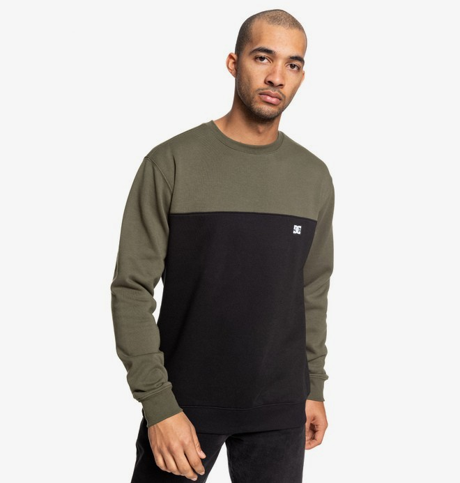 0 Rebel - Sweat pour Homme Marron EDYFT03456 DC Shoes