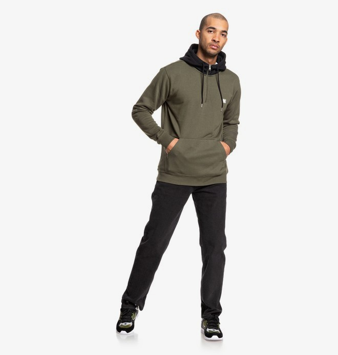 Rebel - Half-Zip Hoodie for Men  EDYFT03457