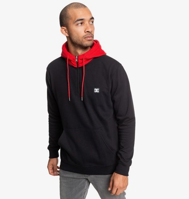 Rebel - Half-Zip Hoodie for Men  EDYFT03457
