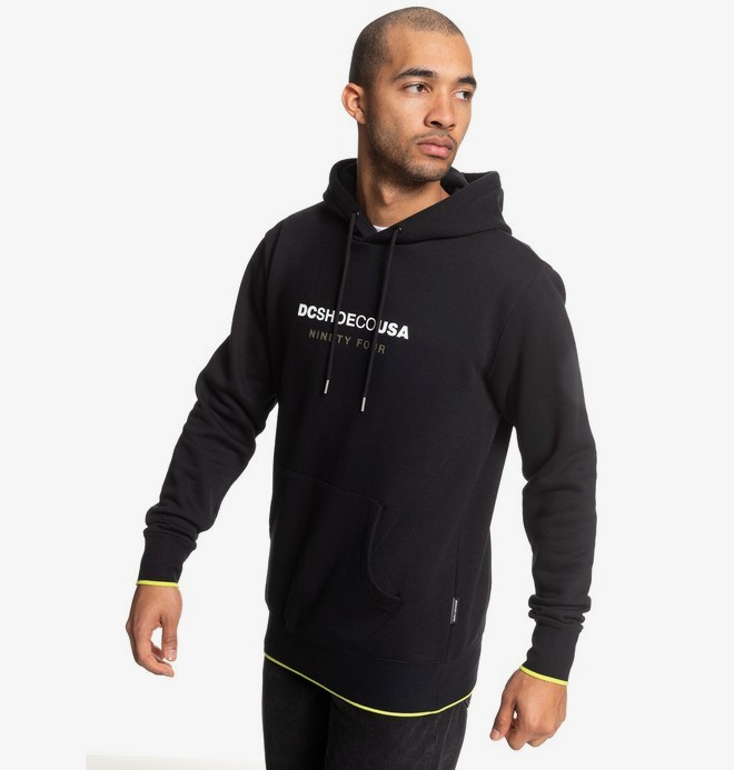 0 Howitt - Hoodie for Men Black EDYFT03459 DC Shoes