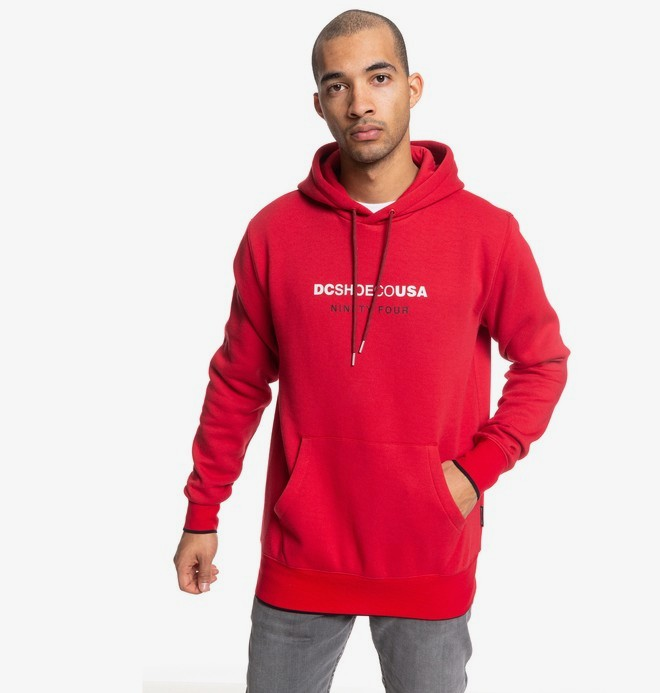 0 Howitt - Sweat à capuche pour Homme Rouge EDYFT03459 DC Shoes