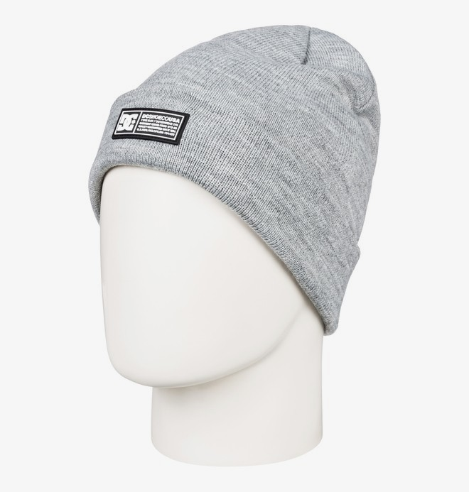 0 Label - Bonnet à revers pour Homme Gris EDYHA03095 DC Shoes