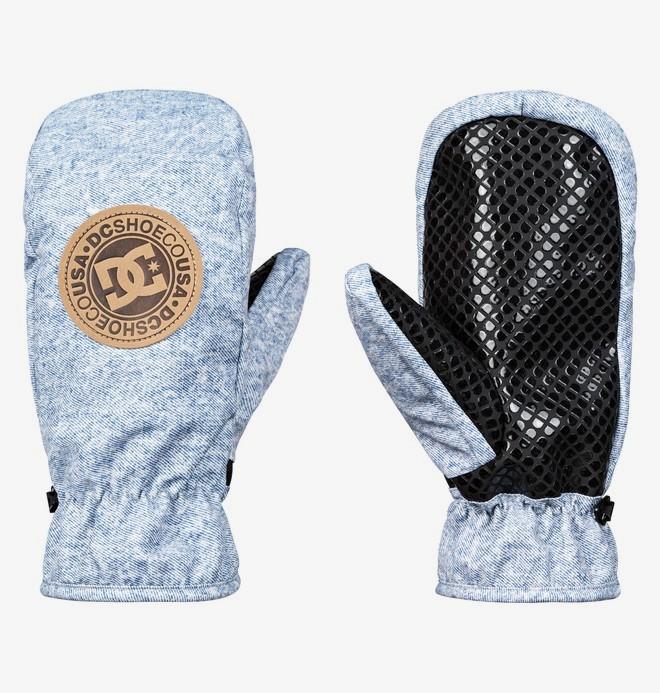 0 Shelter - Moufles de ski/snowboard pour Homme Bleu EDYHN03038 DC Shoes