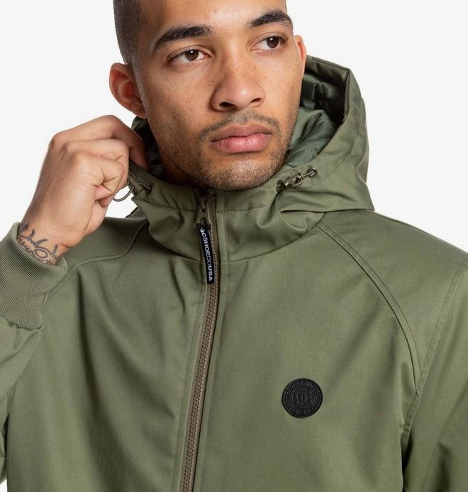 Ellis - Water Resistant Hooded Jacket  EDYJK03169