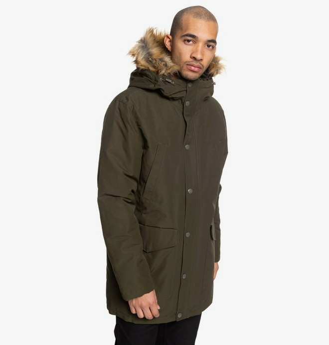Bamburgh - Water-Resistant Hooded Parka for Men  EDYJK03212
