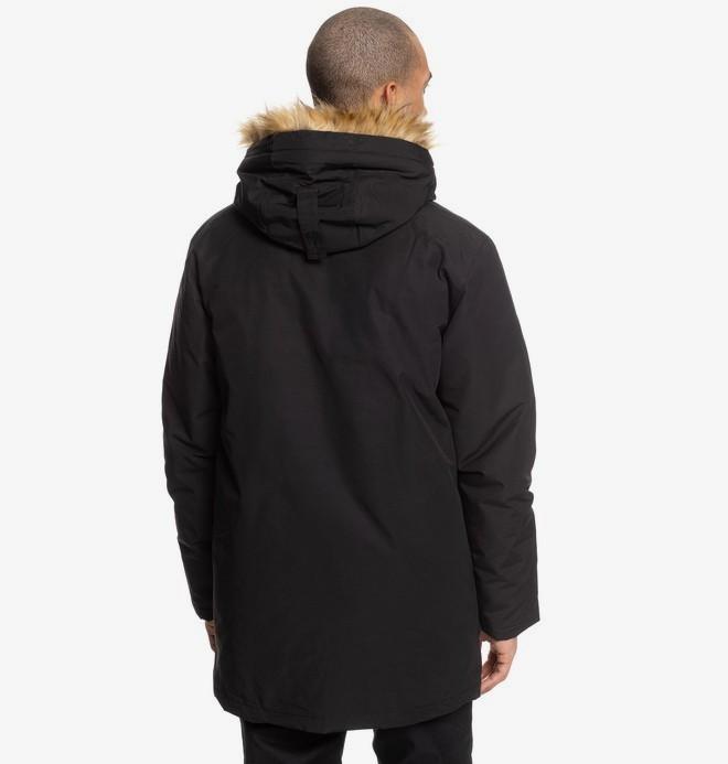 Bamburgh - Water-Resistant Hooded Parka for Men  EDYJK03212