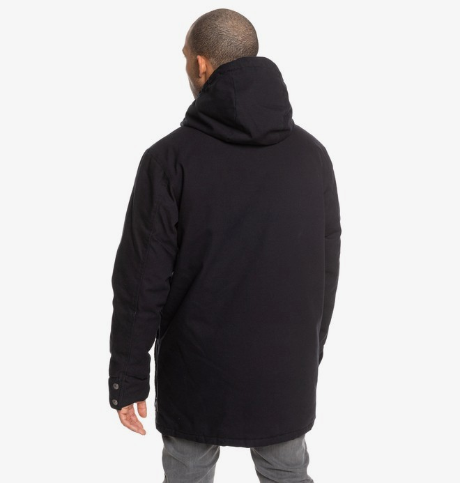 Canongate - Water-Resistant Hooded Workwear Parka for Men  EDYJK03213