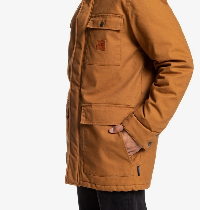 Canongate - Water-Resistant Hooded Workwear Parka for Men  EDYJK03213