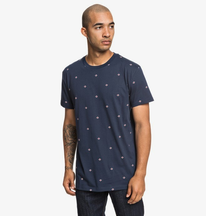0 Cresdee - T-shirt pour Homme Bleu EDYKT03443 DC Shoes