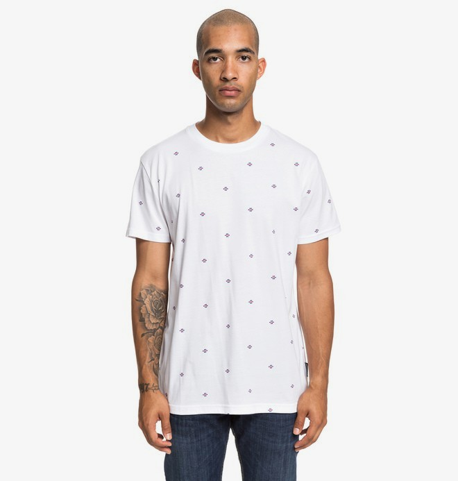 0 Cresdee - T-shirt pour Homme Blanc EDYKT03443 DC Shoes