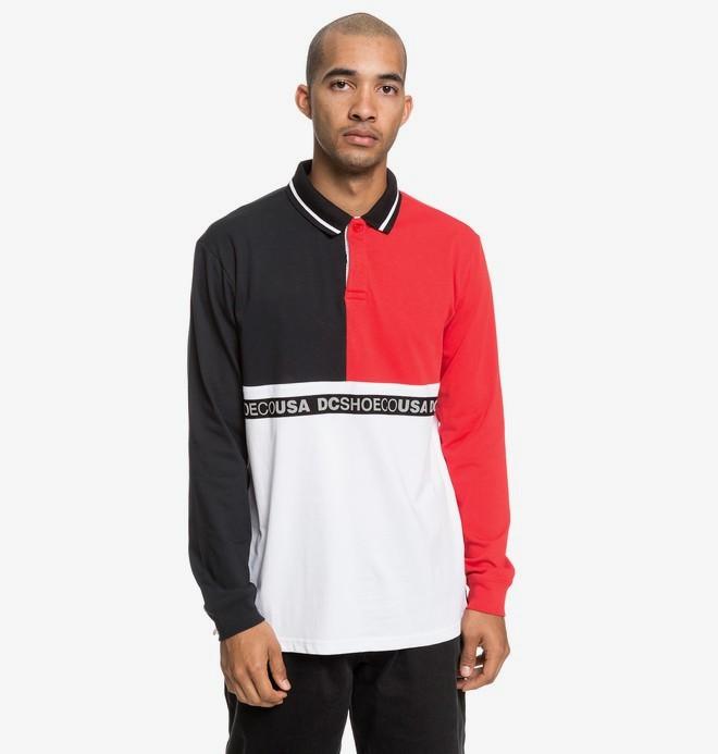 0 Walkley - Langärmliges Polo-Hemd für Männer Schwarz EDYKT03450 DC Shoes
