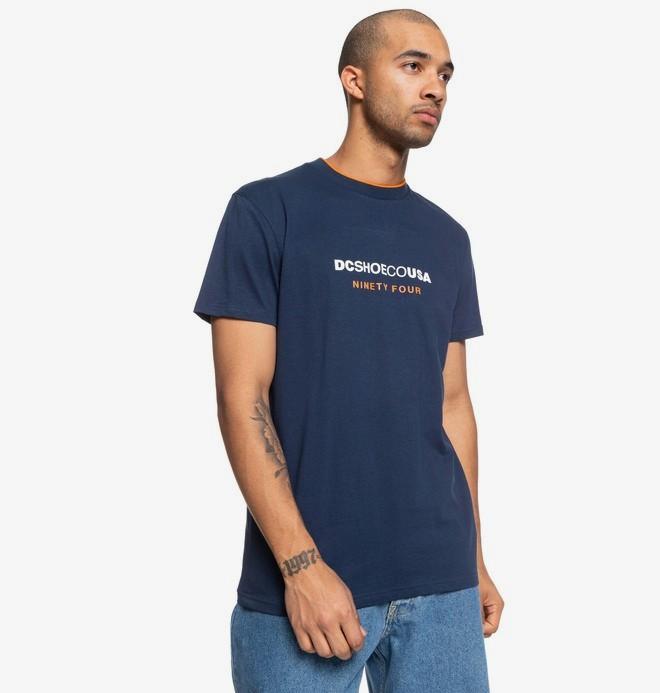 0 Pickens - T-shirt pour Homme Bleu EDYKT03473 DC Shoes