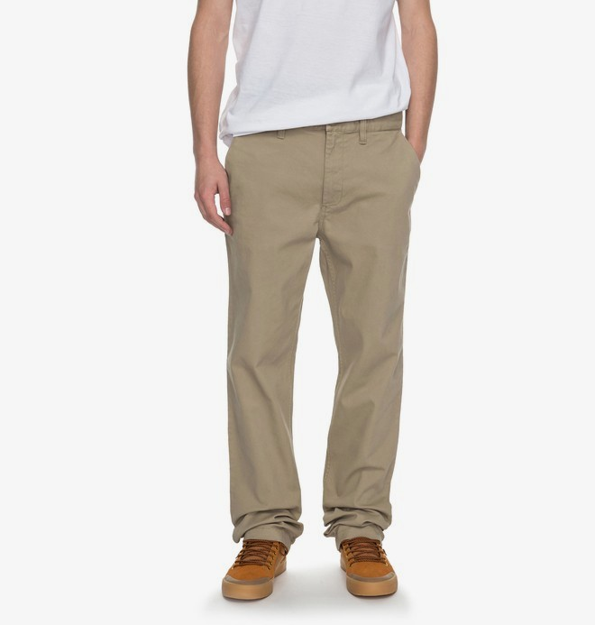 """0 Worker Straight 32"""" - Chinos Beige EDYNP03107 DC Shoes"""