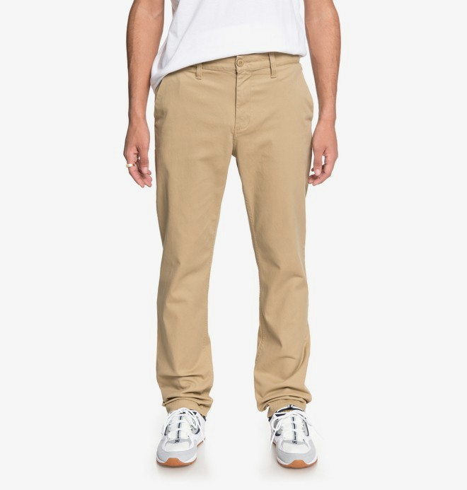 0 Worker - Chinos for Men Brown EDYNP03132 DC Shoes