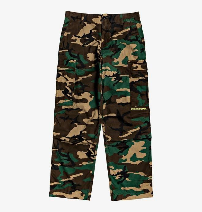 0 Infield - Pantalón militar cargo para Hombre Rojo EDYNP03140 DC Shoes