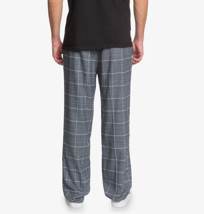 Wreckedtangle - Relaxed Fit Suit Trousers for Men  EDYNP03158