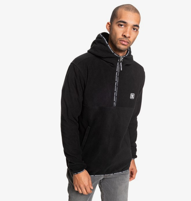 Shepton - Hooded Half-Zip Fleece for Men  EDYPF03036