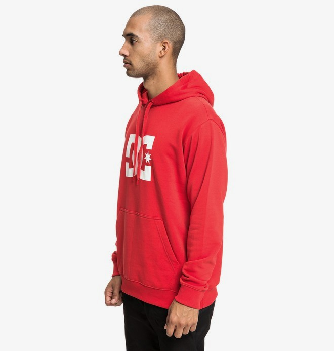 0 Star - Sweat à capuche pour Homme Rouge EDYSF03165 DC Shoes