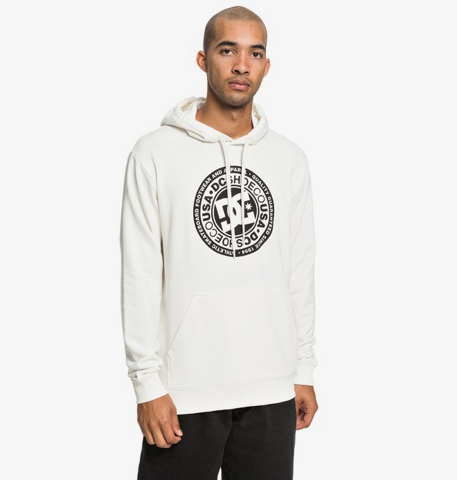 0 Circle Star - Sweat à capuche pour Homme Blanc EDYSF03183 DC Shoes