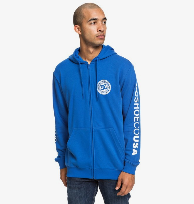 Circle Star - Zip-Up Hoodie for Men  EDYSF03194