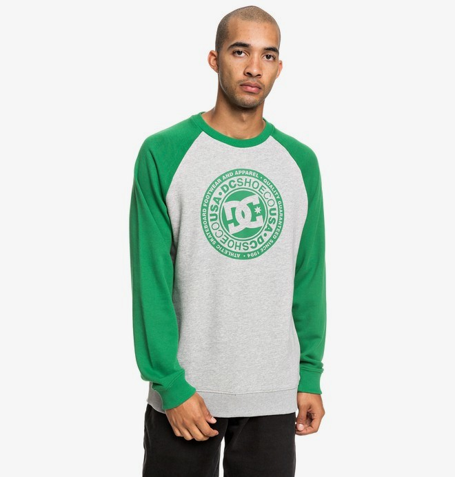 0 Circle Star - Sweat pour Homme Vert EDYSF03198 DC Shoes
