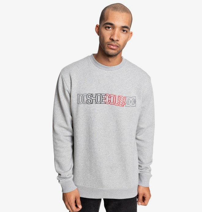 0 DC Battlefield - Sweatshirt for Men Black EDYSF03210 DC Shoes