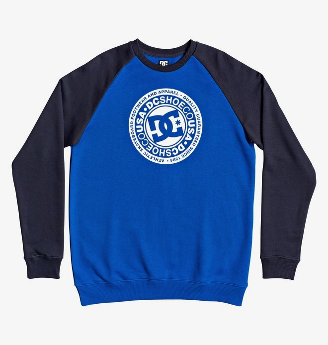 0 Circle Star - Sweatshirt for Men Blue EDYSF03217 DC Shoes