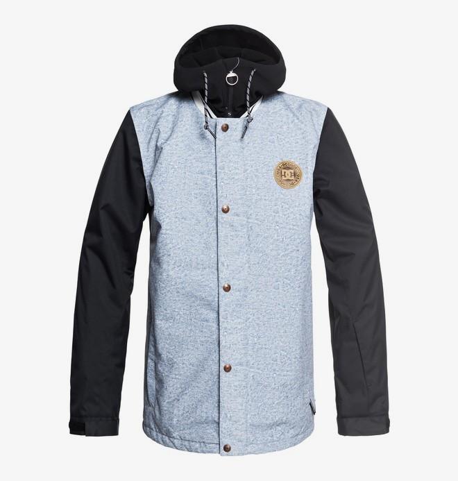 0 DCLA - Snow Jacket for Men Blue EDYTJ03069 DC Shoes