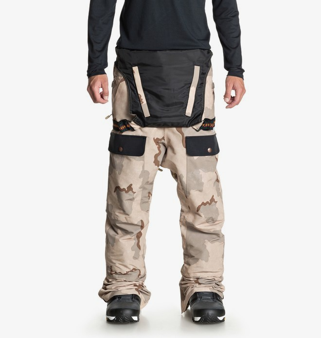 Platoon - Shell Snow Bib Pants for Men  EDYTP03031